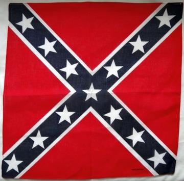 Rebel konfederacja chusta bandana bandama 54cm