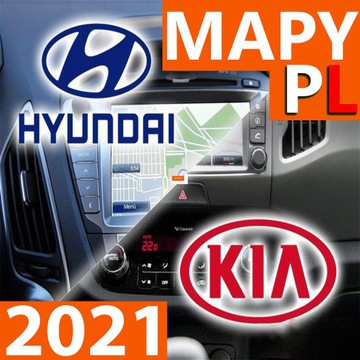 MAPY 2021 SYSTEM KIA HYUNDAI GEN 1.X PL НОВОЕ SOFT