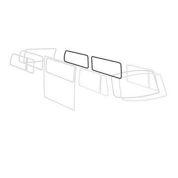 УПЛОТНИТЕЛЬ СТЕКЛА BOCZNEJ TQ VW TRANSPORTER T2
