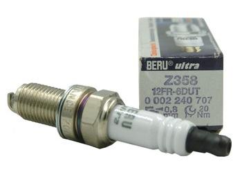 BERU СВЕЧА ЗАЖИГАНИЯ DO FIAT STILO 1.4 16V