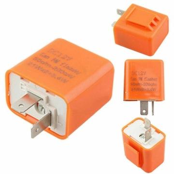 Elektroniczny regulowany przerywacz LED 2-PINY 12v