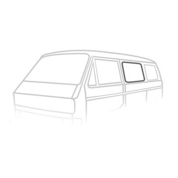 УПЛОТНИТЕЛЬ СТЕКЛА BOCZNEJ CENTRALNEJ KLIN VW T3 /T25