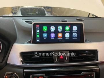 НАВИГАЦИЯ BMW NBT EVO CARPLAY IDRIVE 6 DOPOSAZENIE