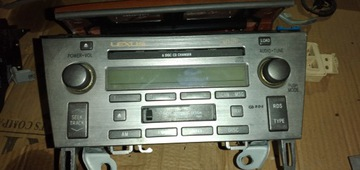 LEXUS SC 430 SC430 РАДИО ZMIENIARKA