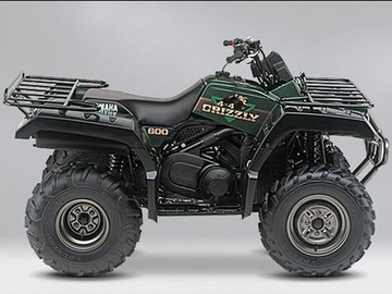CZESCI DO QUADA YAMAHA GRIZZLY 600