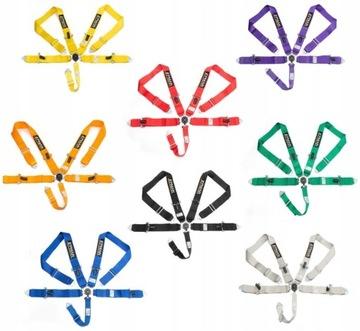 EPMAN Pasy szelkowe 3 cale 5pkt 8 kolorów / takata
