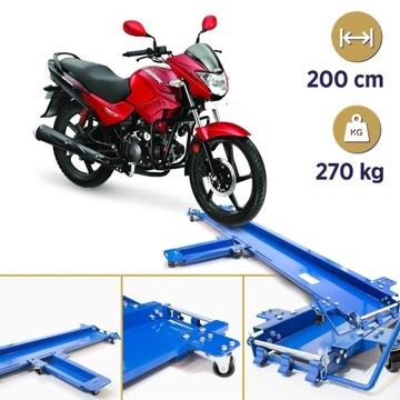 Wózek transportowy do motocykla udźwig 270 kg