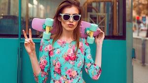 0950aabf15 Długa sukienka w kwiaty - Allegro.pl - Więcej niż aukcje. Najlepsze ...