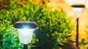 Lampy Ogrodowe Na Allegro Oświetlenie Ogrodowe Solarne