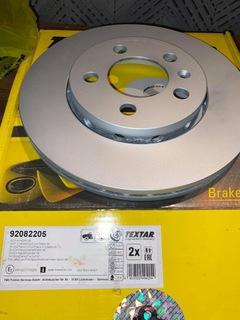 ДИСКИ TEXTAR 92082205 256MM KPL FABIA POLO A3