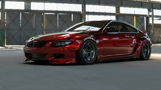 BMW 6 M6 E63 E64 WIDE BODY KIT POSZERZENIA СПОЙЛЕР