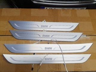 BMW 7 G12 LONG ЛИСТВА ПОРОГА НАКЛАДКАПОРОГА ЗАЩИТ