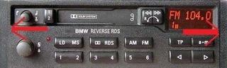 ЗАГЛУШКАBOCZNA RADIA BMW REVERSE RDS E30 E36 E32