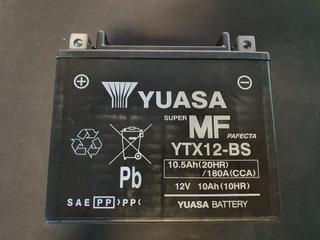 АККУМУЛЯТОР MOTOCYKLOWY YUASA YTX12-BS 12V 10.5AH