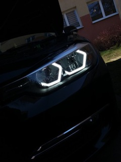 ФАРЫ BMW F30 H7 H7 RINGI ICONIC + FOLIA DYNO