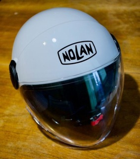 Kask NOLAN N21 visor biały S