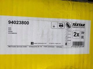 Bębny kpl Textar 94023800 Skoda/Seat/Vw/Audi