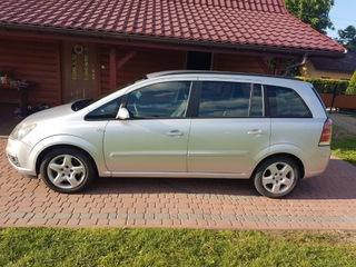 Opel zafira b 2007 1,9 100 km.