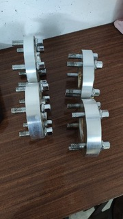 Dystanse 5x112 dwa komplety 25mm i 30mm