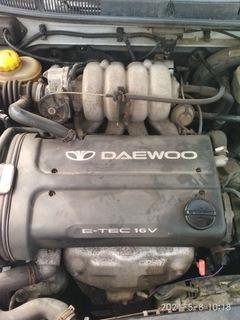 DAEWOO NUBIRA 1998R 1.6 E-TEC 16V ДВИГАТЕЛЬ