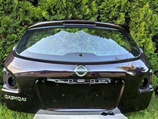 Nissan Qashqai задняя дверь со стеклом LIFT 2010