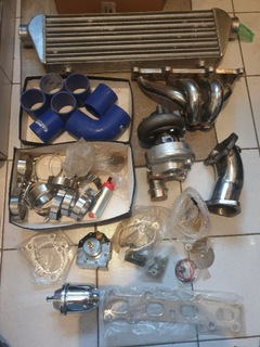 TURBO KIT MAZDA MX-5 1.8 - IC, КОЛЛЕКТОР, DOLOT ITP