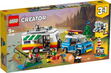 Lego Creator Family Vacation Camping 31108