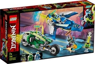 Lego Ninjago Jaya a Lloyda Racing 71709