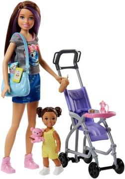 Barbie Babysitter Set s trolejčiart