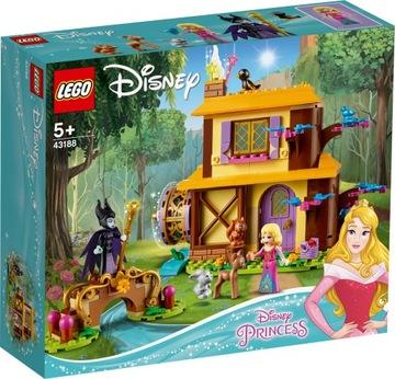 Lego Disney Princess 43188 Aurorina lesná chata