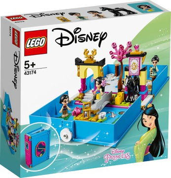 Lego Princess The Adventure Book of Mulan 43174