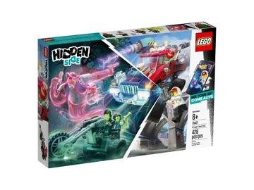 LEGO® Stavebnice 70421 Skrytý bočný kaskadérsky vozík