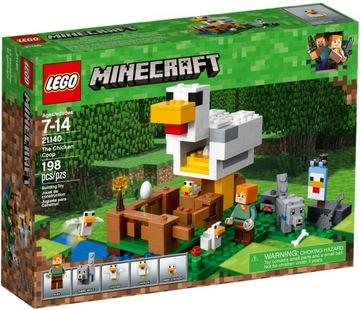 Stavebnice LEGO® MINECRAFT Sliepkový dom 21140