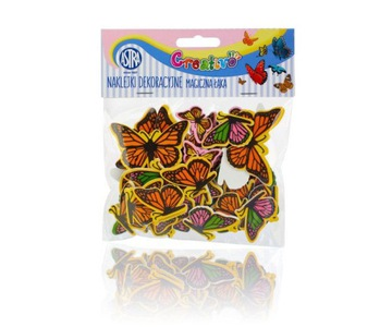 Samolepky Astra Foam Magic Meadow Butterflies č.48