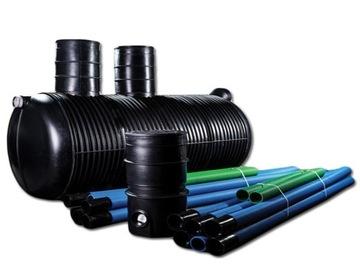 Čistiareň odpadových vôd pre domácnosť pre 5-6 osôb 2 000 l