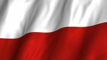 Poľská vlajka 125x70cm