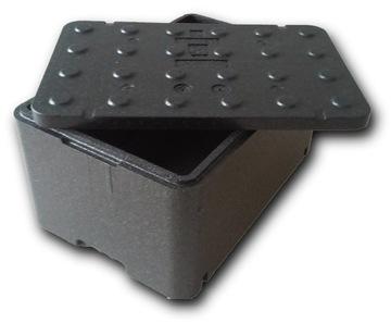 Čierny termobox FB250 Chladnička Stravovanie 48 L