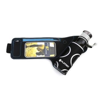 Bežecký pás Brušný pás pre telefón + fľaša na vodu