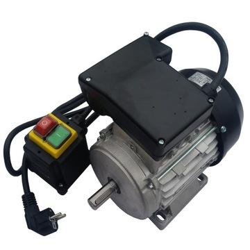 Elektromotor 1,1 kW 1 fáza, 230V betónový mixér
