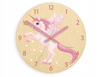 ULTRA SILENT UNICORN WALL CLOCK