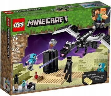LEGO MINECRAFT Boj v hranici 21151