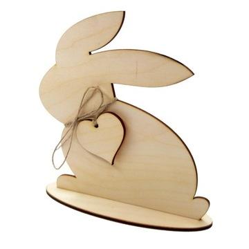Veľkonočný zajačik Zajačik so srdcom Decoupage