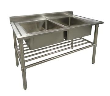 Umývadlový nerezový gastronomický umývadlo 1200 mm