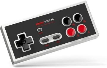 Bezdrôtová podložka. 8BITDO SF30 2.4G NES CLASSIC MINI