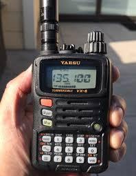 Ručné rádio YAESU VX-6E CON-SPARK 36 m