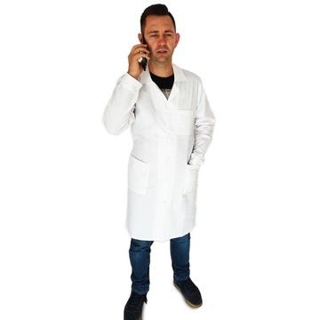 Laboratórium Lekárske zástery Mužské tlačidlá PL XL