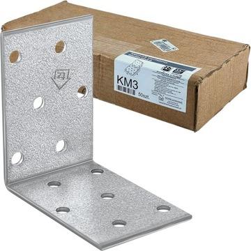 Konektor Carpentry Angle KM3 60x60x40x2,0 50ks
