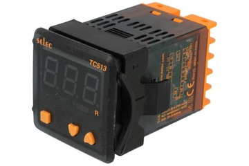 Regulátor teploty PT100 termočlánok SSR TC513BX