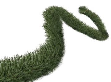 Garland 500cm Umelý vianočný strom zelený reťazec