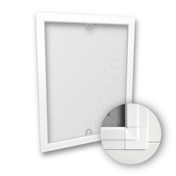 Orámovaná hliníková obrazovka proti hmyzu - prispôsobená - farby